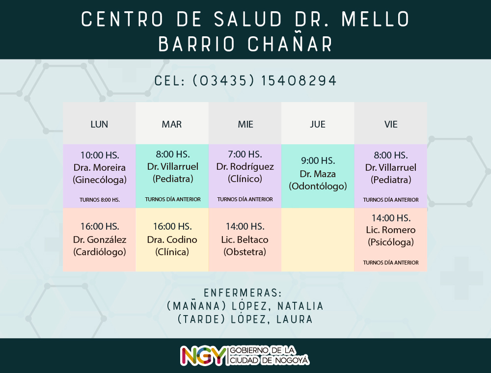 HorariosSalud-Mello